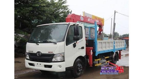 xe cẩu hino 3 tấn 5 xzu730l gắn cẩu unic 3 tấn urv340