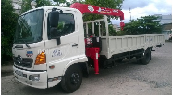 BAN XE CAU HINO 6T4 -FC GAN CAU UNIC URV344 - 3 TAN