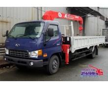 cong ty ban xe tai, Xe Cẩu Hyundai 6 Tấn HD120 Gắn Cẩu Unic 340