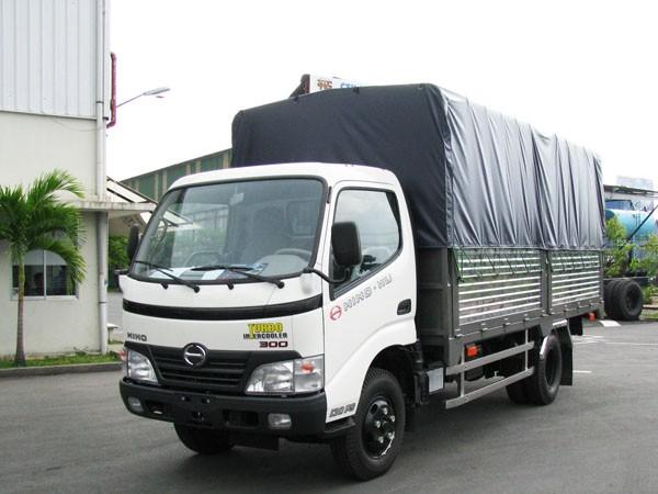 Cần bán xe tải hino 1T9 1,9 tấn 2 tấn mới 100% đời 2015 giá rẻ = Hino 1T9 1,9 tấn