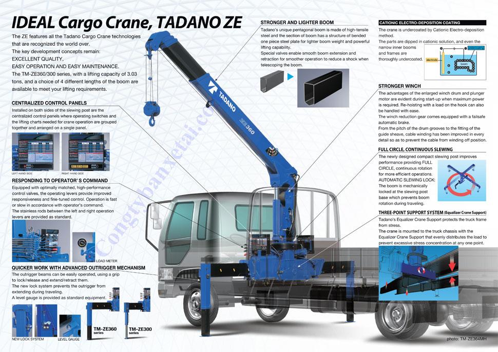 BAN CAU TADANO 3 TAN TM-ZE300M