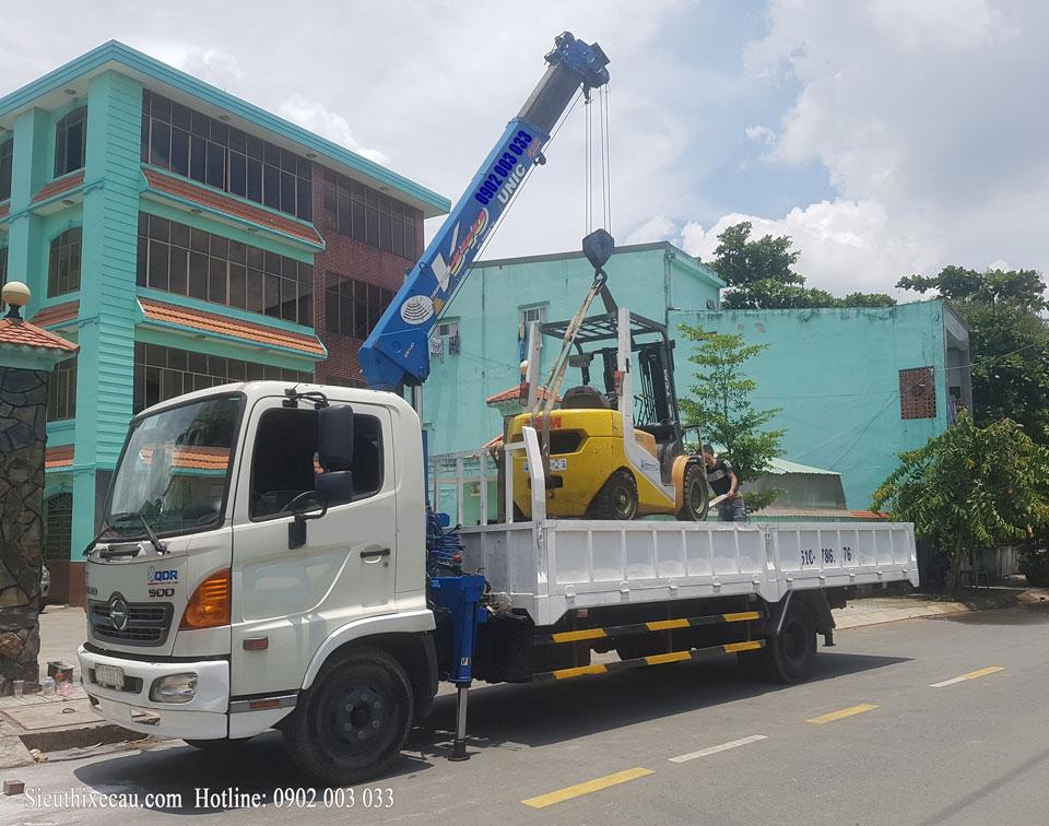Xe cẩu Hino FC tải trọng từ 5 tấn đến 8 tấn