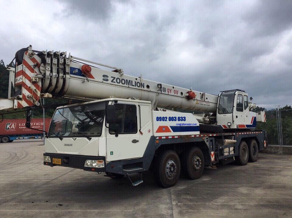 Xe cẩu Zoomlion 50 tấn