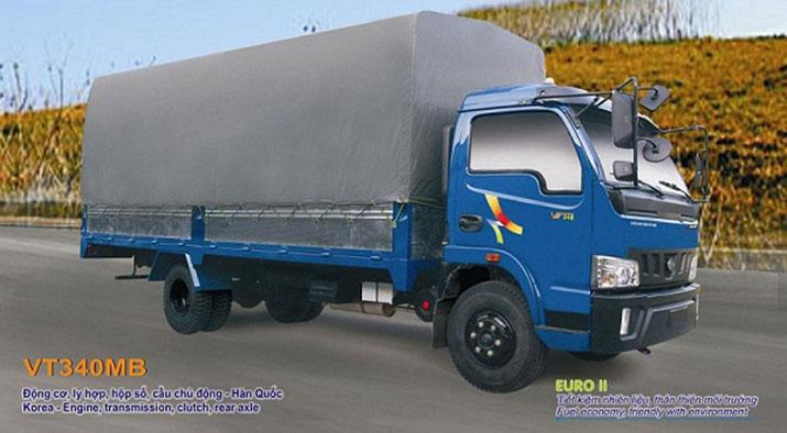 xe tải veam 3t5 vt340